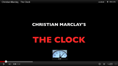 Marclay - The Clock